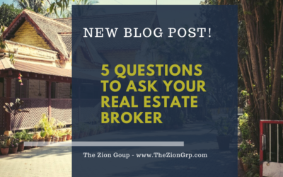 5 Questions to Ask Your Real Estate Broker